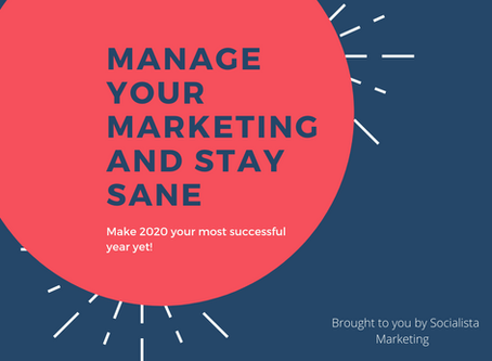 3 Ways to Focus on Marketing Success in 2020