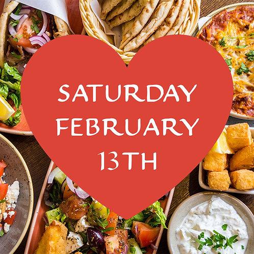 Valentine's Date Night Box — Saturday 13th February