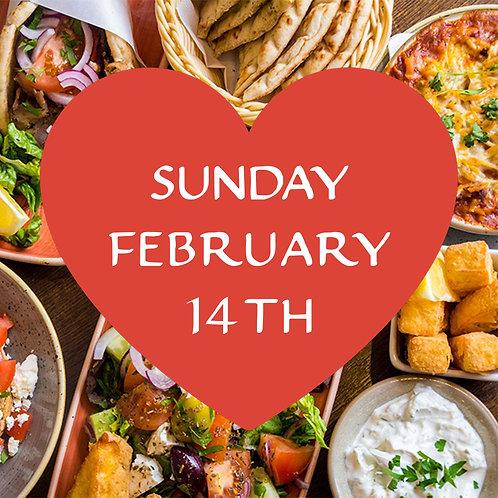 Valentine's Date Night Box — Sunday 14th February