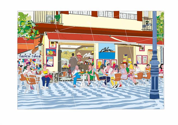 Cafe Blau de Cambrils