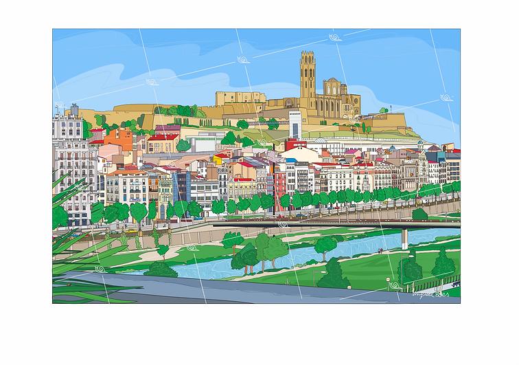 Panorámica de Lleida
