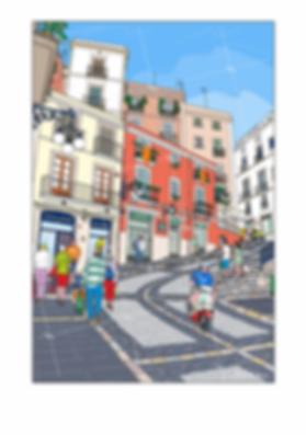Calle Mayor de Tarragona