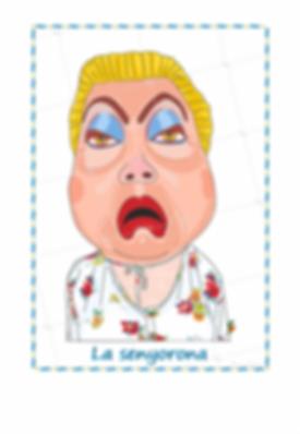 Cabezudos de Lleida - La Señora