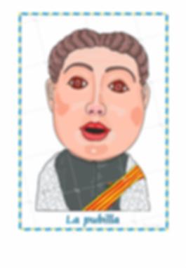 Cabezudos de Lleida - La Pubilla