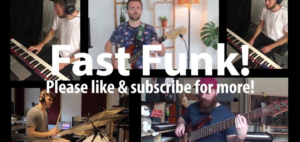 Some very fast funk!