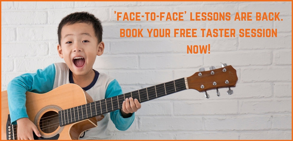'face-to-face' lessons are back. book yo