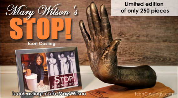 Mary Wilson Icon castings