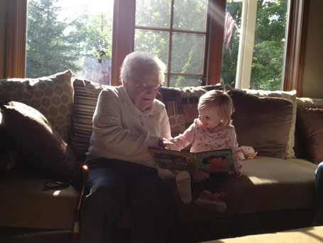 To Grandma, on your Second Heaven-versary