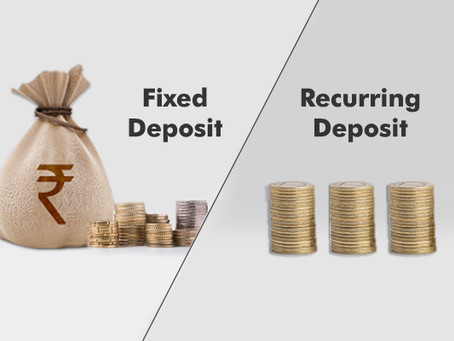 Fixed Deposit (FD)and Recurring Deposit (RD)