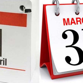 Why is the beginning of financial year on 1 April?