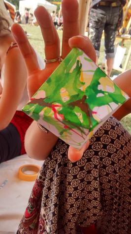 Resultat des Prana-Art-Workshops