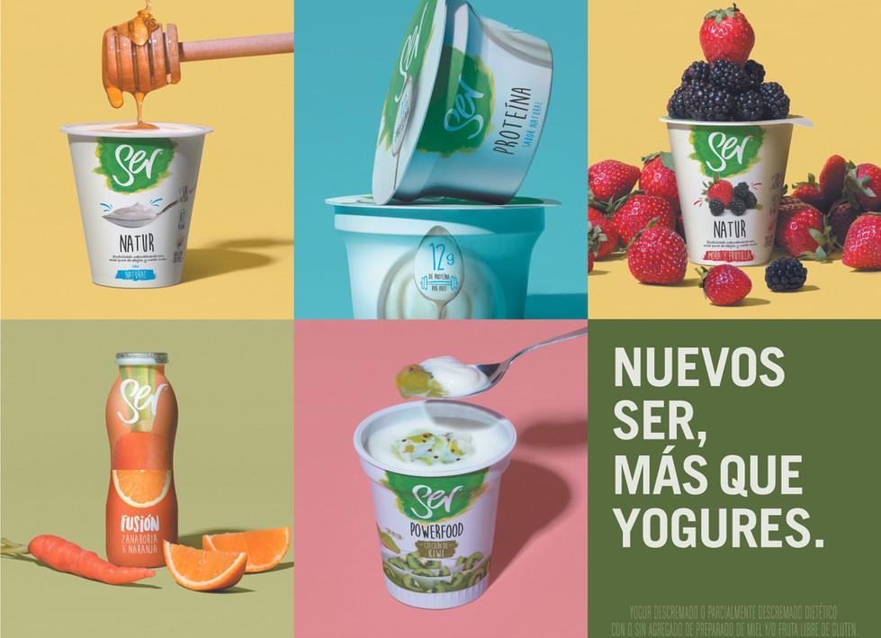 SER Yogurts