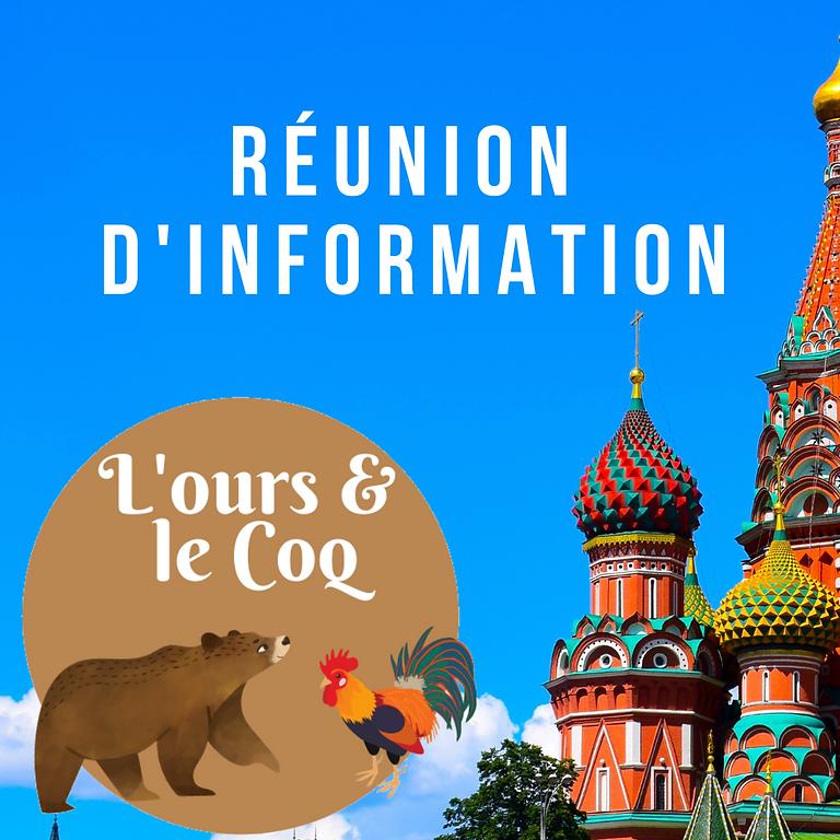 Réunion Octobre 2021