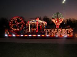 THANKS Christmas Float