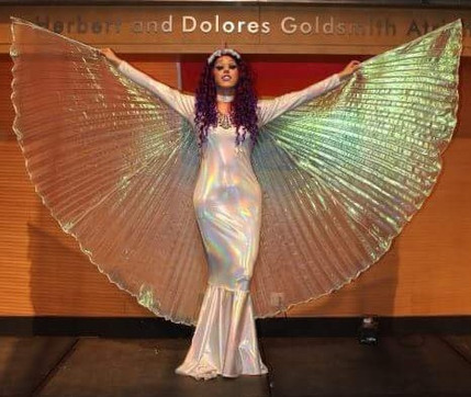 Performing with Isis Wings at Long Island University