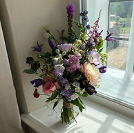 BOUQUET IN THE BRIDAL SUITE ~ How pretty