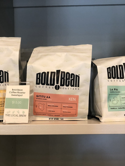 Retail Beans - Single Origin