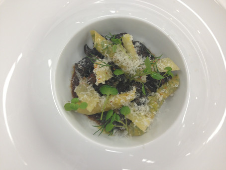 Escargot with Pasta and Fresh Herbs
