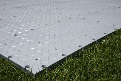 "Grey Sub Floor 12"" X 24"" Sections"