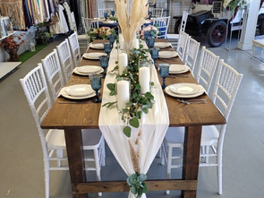Farm Style Table Display