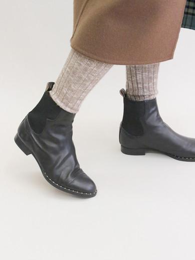 Art.no. MS-13 Heel: 1.5cm Price: 39,000yen+TAX Color: Black