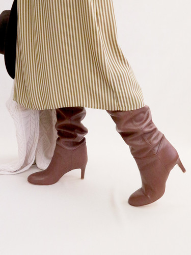 Art.no. AWS-1 Heel: 7cm Price: 44,000yen+TAX Color: Brown, Taupe, D.Brown, Choco, Ivory