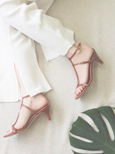Art.no. OM-5 Heel: 6cm Color: Lavender, Orange Brown, Khaki, Black, Gold Price: 28,000yen+TAX