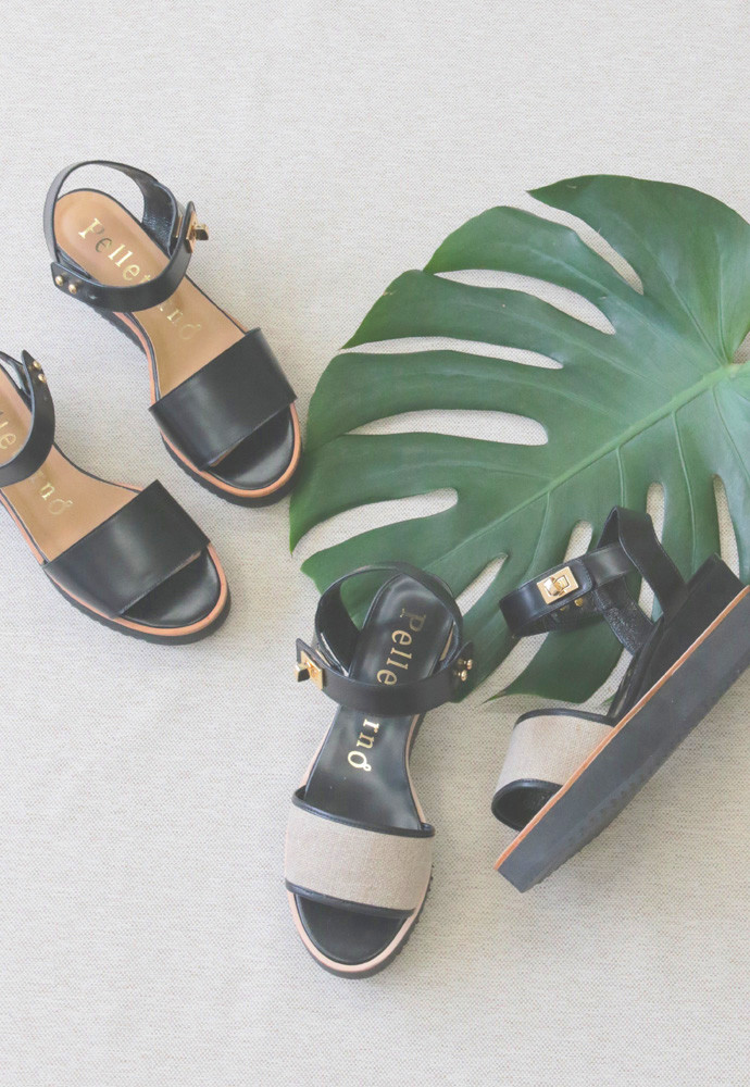 Art.no. TSS-2 Heel: 5cm Color: Black, Nude Beige, Linen Price: 34,000yen+TAX