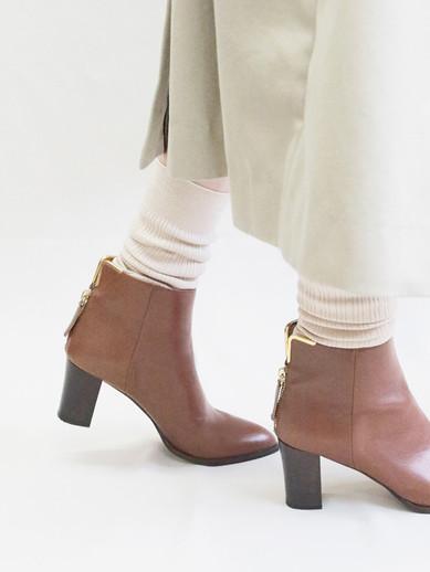 Art.no. GS-17 Heel: 7cm Price: 36,000yen / 38,000yen+TAX Color: Tan, D.Brown, Black / Croco-Black