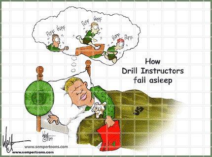 Drill Instructor sleep Female