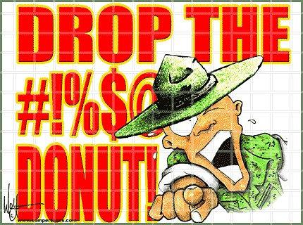 Donut Male Marine