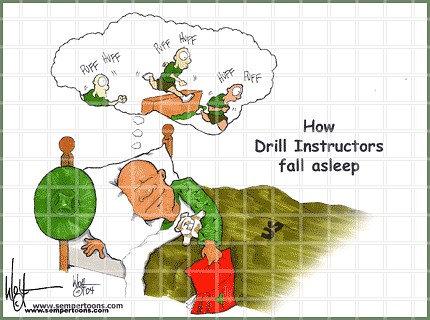 Drill Instructor sleep Male