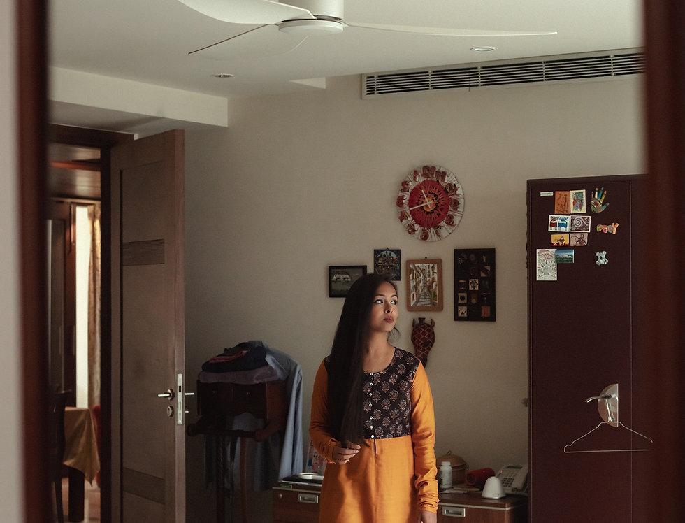 Manjal Cotton Silk kurta