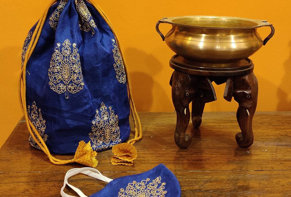 Pataka Potli & Mask Set