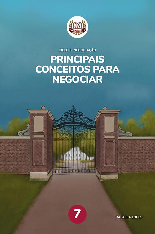 Livro 7: Principais conceitos para negociar (7º ano)