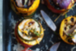 Grillede Antipasti Canapes