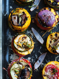 Grilled Antipasti Canapes
