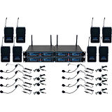 VocoPro UDH-PLAY 8 - Eight-Channel UHF H