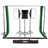 Fovitec Classic 3-Light Studio Kit with