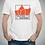 """Thumbnail: Camiseta """"Teatro en el Incendio blanca"""""""