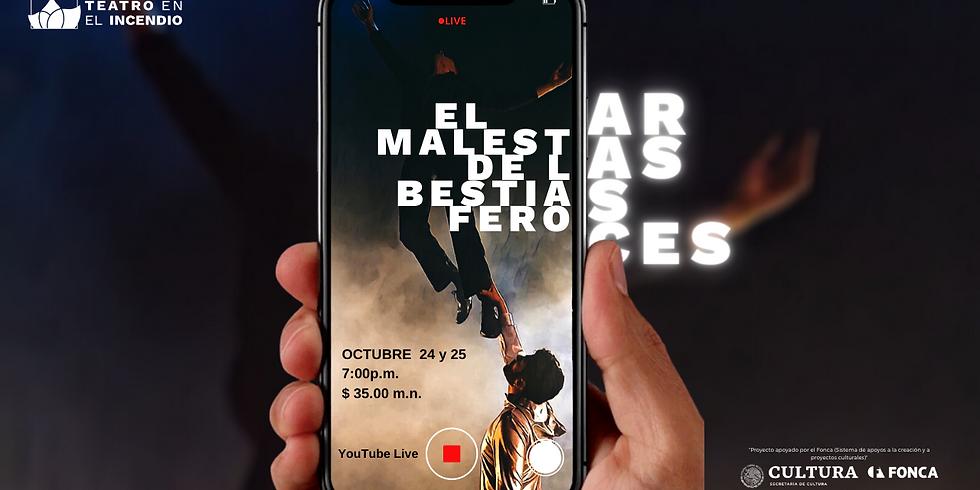 EL MALESTAR DE LAS BESTIAS FEROCES | 24-oct