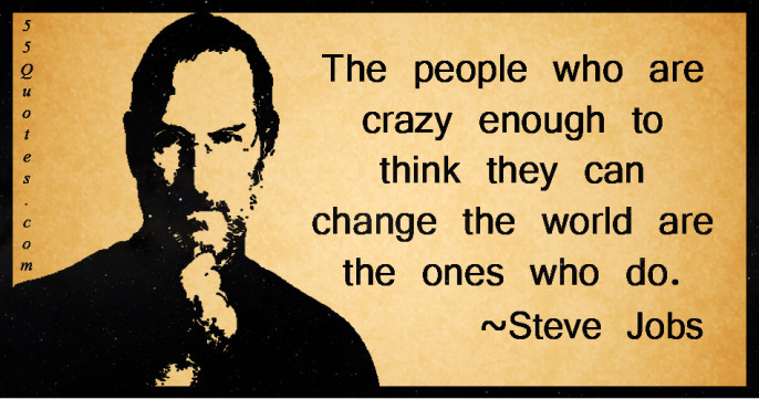 Hvor mange av dere visste at Steve Jobs var Syrer_ (1955-2011) Og hvor store verdier - innen teknolo