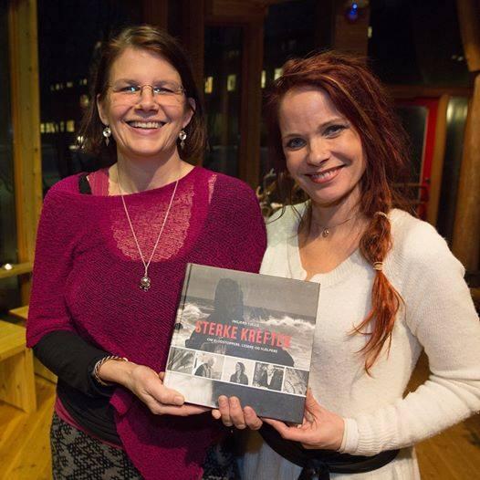 Anneli Guttorm også med i den flotte boken av Ingjerd Tjelle Sterke krefter!