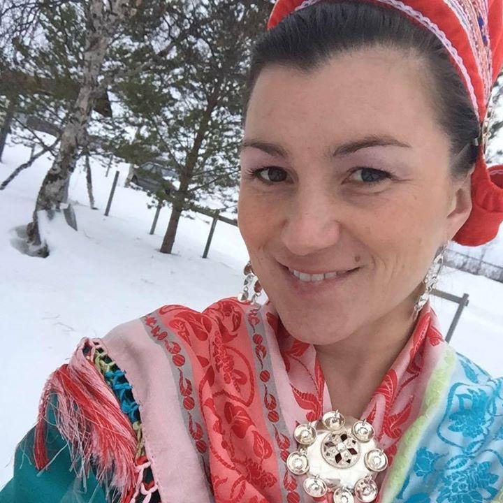 Inger Elin Kristina Utsi - hun er en fantastisk hjelper og organisator