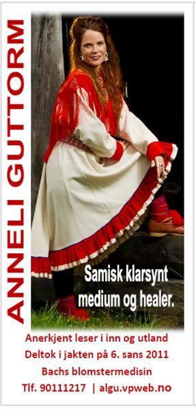 Anneli Guttorm i en nydelig kofte!