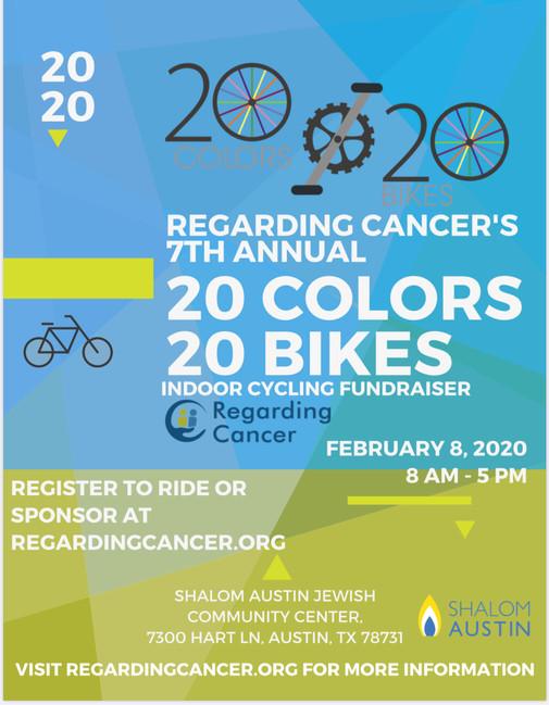 20 Colors/ 20 Bikes