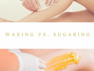 Sugaring vs. Traditional Wax