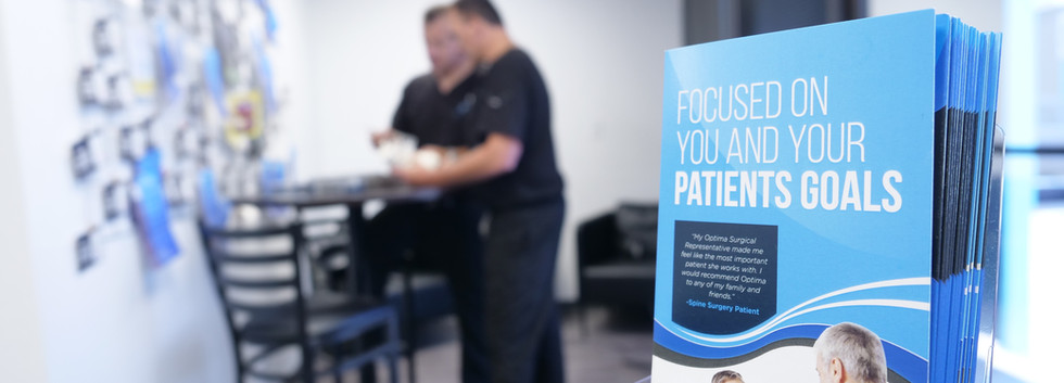 Focused on You and Your Patients Goals