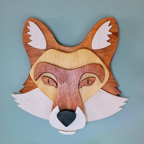 Fox Wall Face