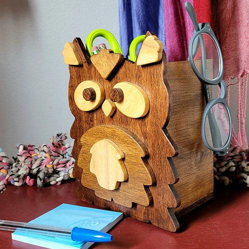 Dark Owl Open-Top Box
